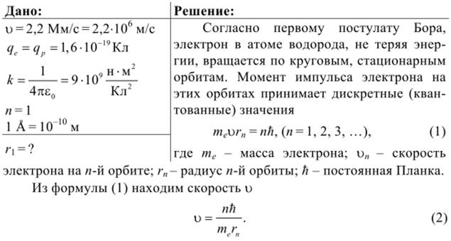 Примеры решения задач на момент импульса урок математики в 1 классе решение задач