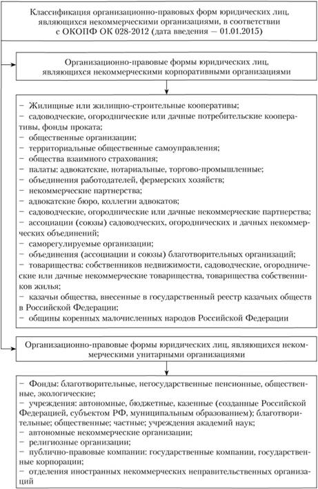 некоммерческие организации особенности образования