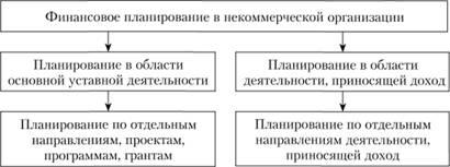 планирование финансовой деятельности некоммерческих организаций